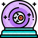 Fortune Halloween Eye Icon