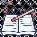 Magic Book Spellbook Magical Knowledge Icon