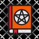 Halloween Magic Book Scary Icon