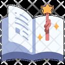 Fantasy Magic Book Icon