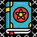 Spell Book Magic Icon