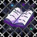 Magic Book Paper Icon