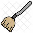 Magic Broom Broomstick Cleaning Broom Icon