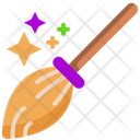 Magic Broom Witch Broom Broom Icon