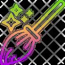 Magic Broom Icon