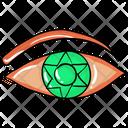 Magic Eye Evil Eye Eyeball Icon
