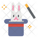 Magic Hat Rabbit Icon