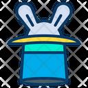 Hat Magician Hat Hat Rabbit Icon