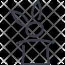 Rabbit Hat Marquee Icon