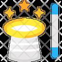Magic Hat Magic Hat And Magic Stick Magic Stick Icon