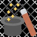 Magic Hat Wand Icon