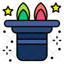 Magic Hat Hat Rabbit Icon