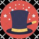 Magic Hat Stick Icon