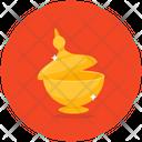 Magic Lamp Lantern Lamp Icon