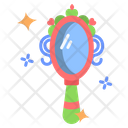 Magic Mirror Hand Mirror Fairy Tale Icon