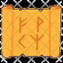 Magic Paper Parchment Magic Papyrus Icon