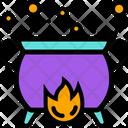 Pot Magic Witch Icon