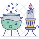 Magic Potion Witch Cauldron Magic Pot Icon