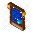 Vintage Scroll Wizard Icon