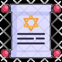 Magic Paper Magic Scroll Parchment Icon