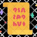 Magic scroll Icon