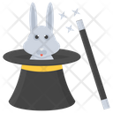 Magic Magic Cap Magician Rabbit Icon