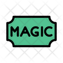 Ticket Magic Circus Icon