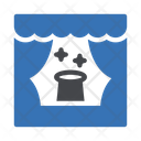 Stage Circus Curtains Icon
