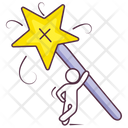 Magic Wand Magic Stick Imagination Icon