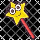 Magic Stick Magic Wand Star Wand Icon