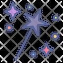 Fantasy Wizard Wand Icon