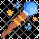 Witch Wand Magic Stick Magic Wand Icon