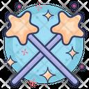 Magic Sticks Icon