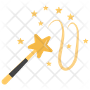 Magic Wand Wizard Wand Magician Tool Icon