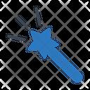Magic Wizard Wand Icon
