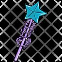 Magic Wand Star Wand Fairy Wand Icon