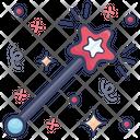 Fairy Wand Magic Wand Magical Stick Icon