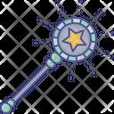 Magic Stick Star Wand Witch Wand Icon