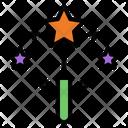Magic Wand Wizard Magic Icon