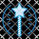 Wizard Wand Magic Icon