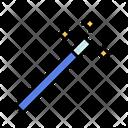 Magic Wand Wizard Stick Icon