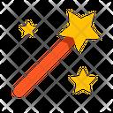 Fantasy Genre Magic Icon