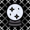Magic Globe Divination Icon