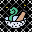 Magic Bowl Pestle Icon