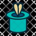 Magician Magician Hat Magician Cap Icon