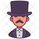 Magician Actor Man Icon