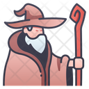 Character Rpg Wizard Icon