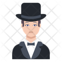 Magician Man Male Icon