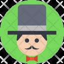 Magician Wizard Illusionist Icon
