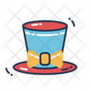 Magician Hat Magic Show Hat Trick Icon